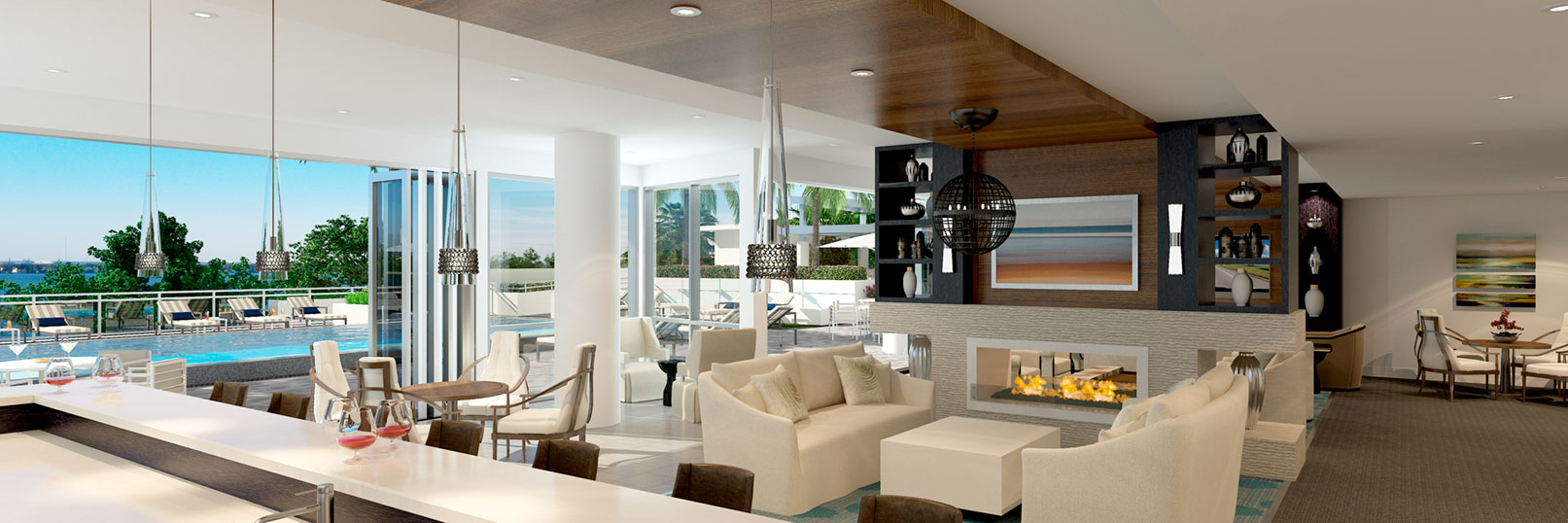luxury condo interior photo
