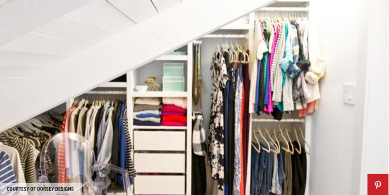 organized closet photo