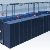 aisle containment system rendering