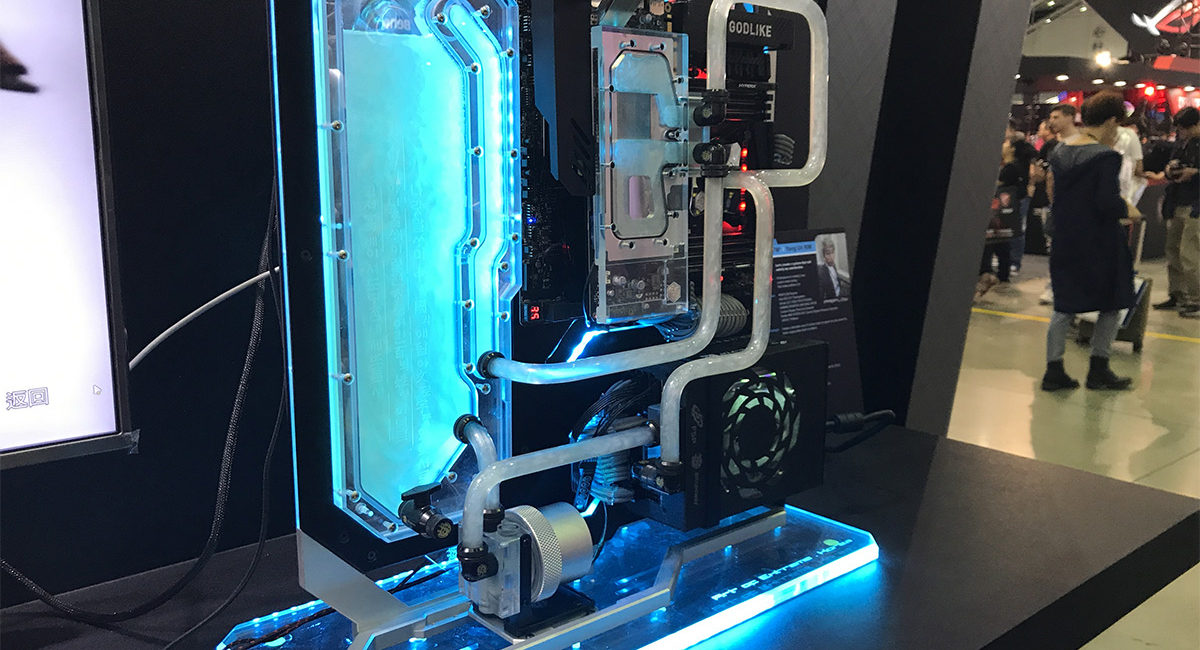 model of liquid cooling system